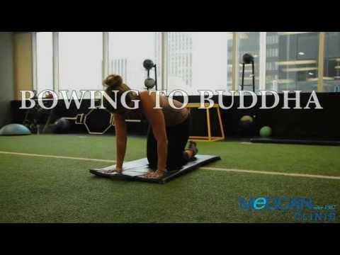 Bowing to Buddha Exercise
