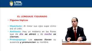 UTPL LENGUAJE FIGURADO [(CCEE)(ESTÉTICA Y BELLEZA LITERARIAS)]
