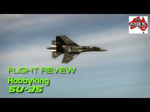 Flight Review: Hobbyking SU-35