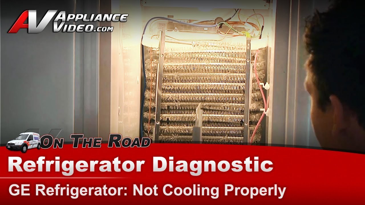 maxresdefault ge, hotpoint & rca refrigerator diagnostic not cooling properly Frigidaire Refrigerator Wiring Diagram at soozxer.org