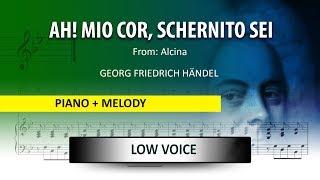 Ah!, mio cor / Händel: Instrumental / Low Voice