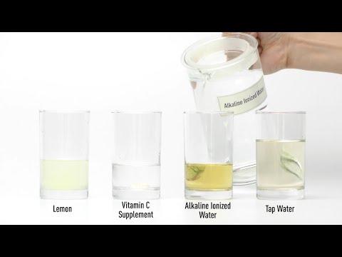 Alkaline Ionized Water Practical Test -Oxidation-reduction