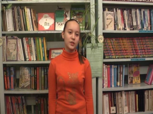Изображение предпросмотра прочтения – МарияКротова читает произведение «Гой ты, Русь, моя родная!..» С.А.Есенина