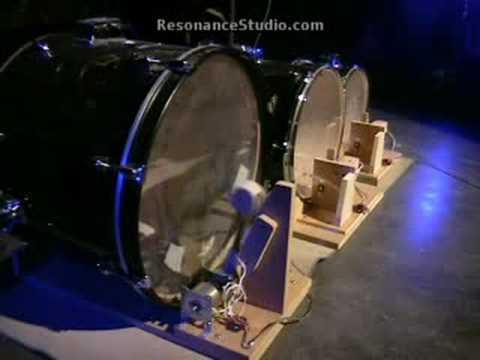 Robotic Drum Kit, Demo2