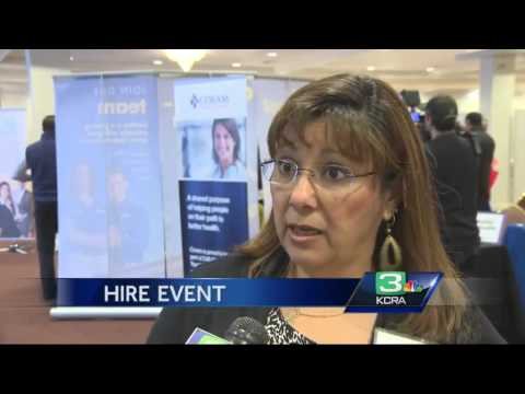 Hundreds turn out for Sacramento job fair