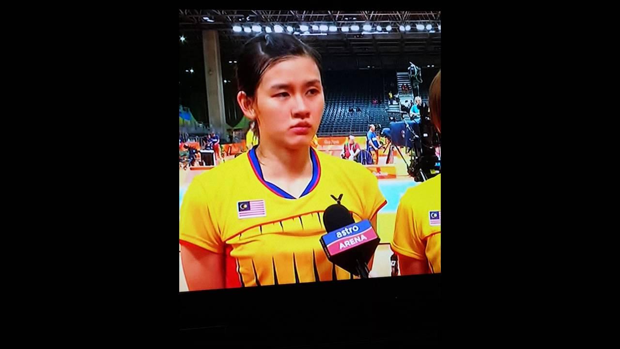 Vivian hoo & woon khe wei Rio Olympics