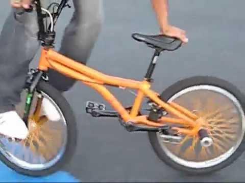 BMX Freestyle Flatland | Beginner Tricks | My first Edit | Freddy Brown 2007