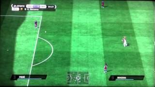 FIFA 11 Gameplay - Real Madrid Vs. FC Barcelona (PS3)