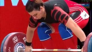 Чемпионат мира 2015. Женщины в.к. св. 75 кг.