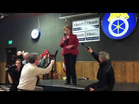 Heidi Heitkamp's speech