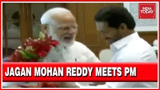 Jagan Mohan Reddy Meets PM Modi | To Invite PM For Oath Taking Ceremony thumbnail