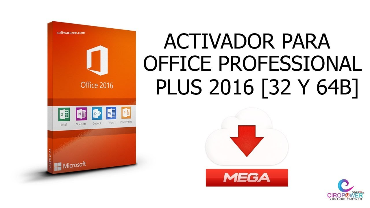 Como Activar Office Professional Plus 2016 32 Y 64 Bits Permanentemente 2017 Youtube