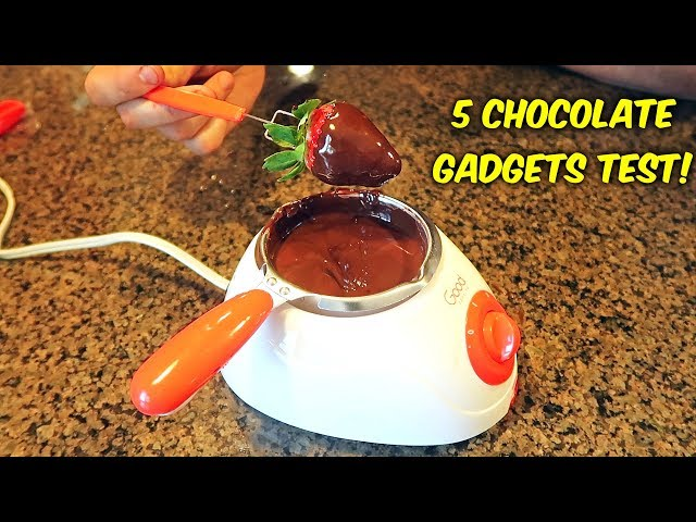 5 Chocolate Gadgets Put to the Test!