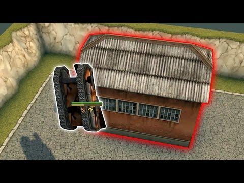 Паркур танки онлайн №1 - YouTube