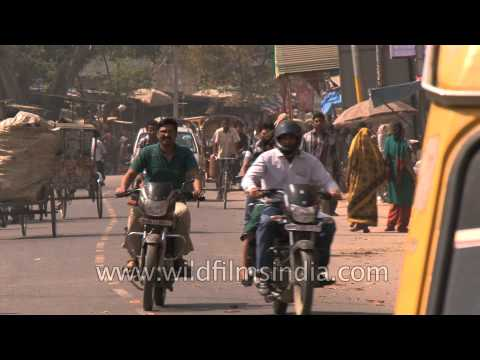 On the streets of Allahabad