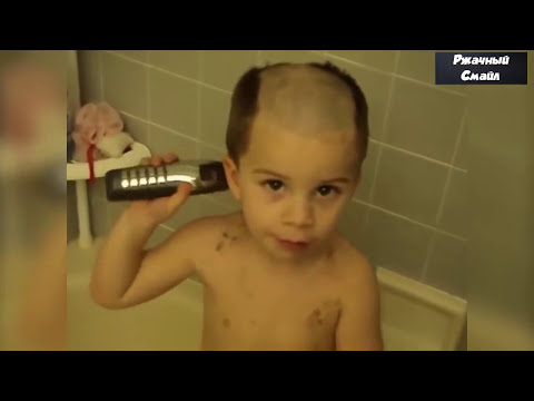 Лучшие приколы с детьми 2017(смешные видео до слёз)