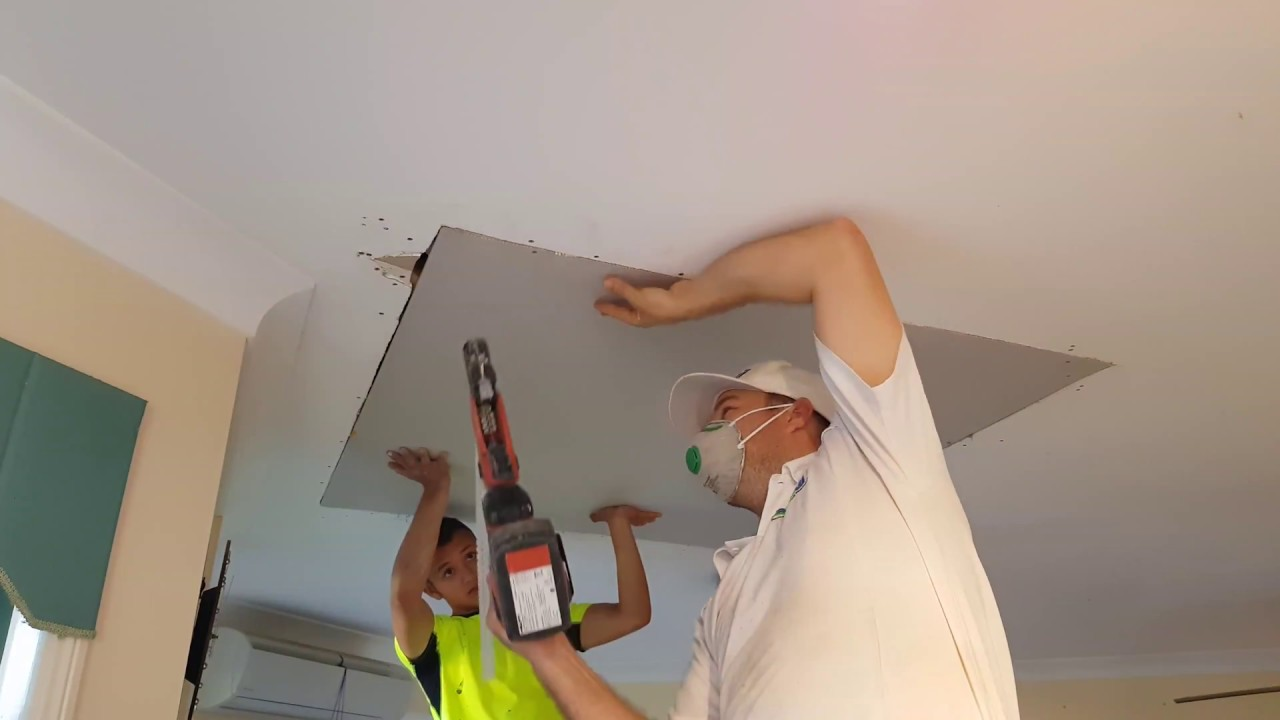 How To Repair Ceiling Drywall Mycoffeepot Org
