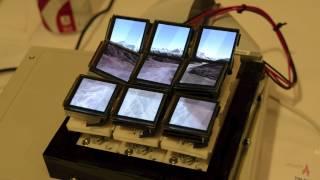 Tilt Displays - A true 3D display(A tilt display prototype developed by Jason Alexander et al. presented at MobileHCI 2012., 2012-09-26T16:45:40.000Z)