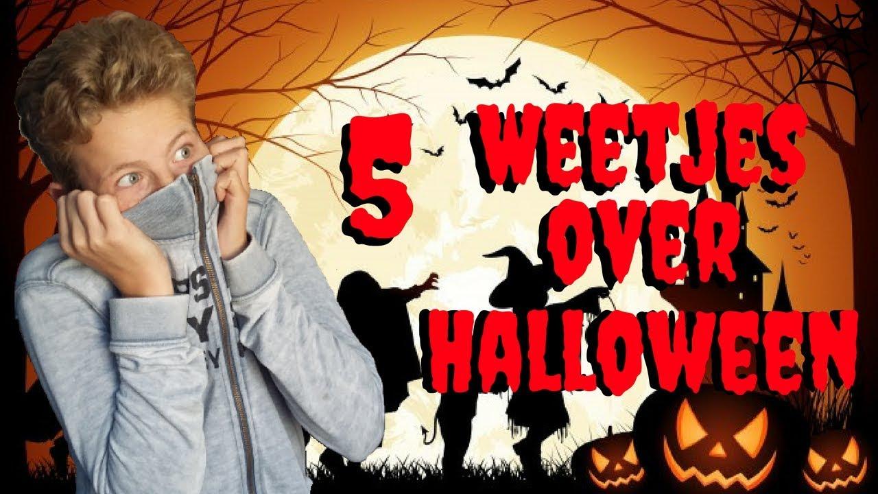 Halloween Weetjes.5 Weetjes Over Halloween