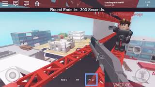 Iron Sights gameplay|roblox