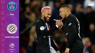 PSG 5-0 Montpellier - HIGHLIGHTS & GOALS - 2/1/2020