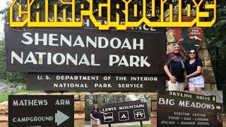Campgrounds in Shenandoah National Park