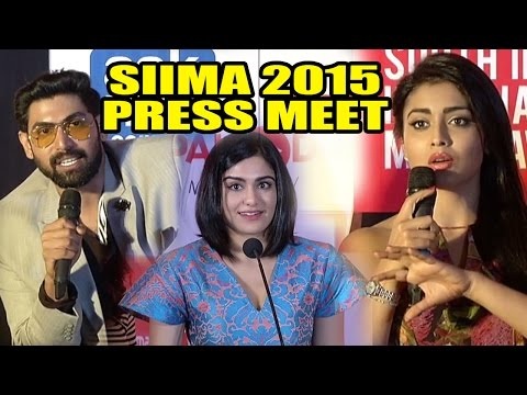 South Indian International Movie Awards (SIIMA) 2015  : Press Meet