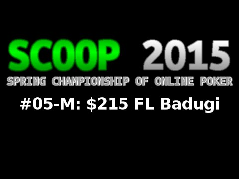 [SCOOP 2015] Event #05-M: $215 FL Badugi, $25K Gtd