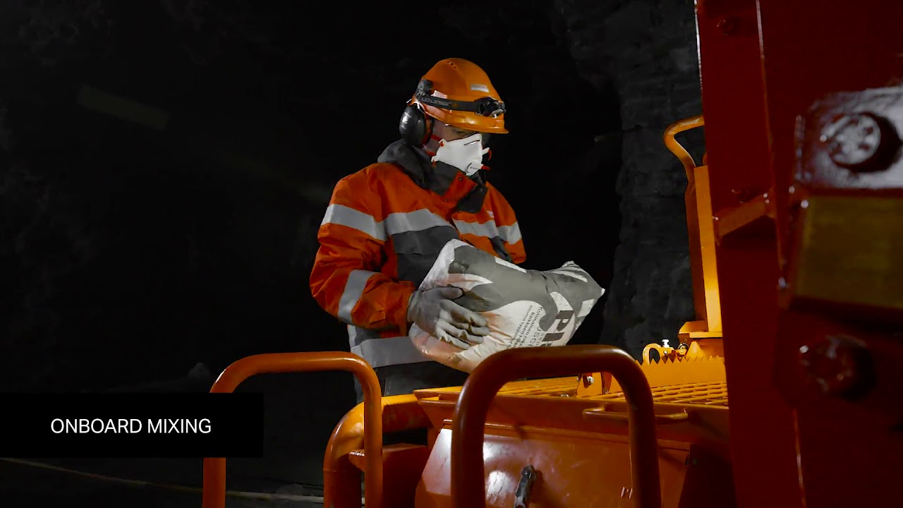 Sandvik DS221L LP Cable Bolter | Sandvik Mining and Rock Technology