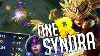 ONE R SYNDRA! (+1000 AP) COMO ONESHOTEAR DE SOLO UNA R