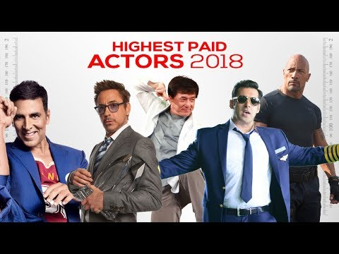 World's Highest Paid Actors of 2018