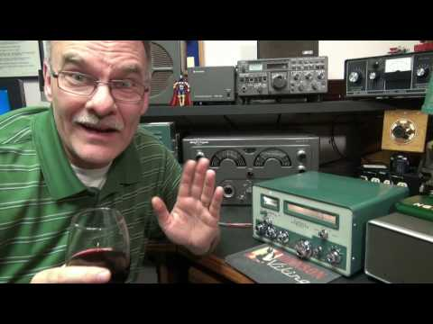 How to modify audio Heathkit Comanche tube Ham band receiver by D-Lab