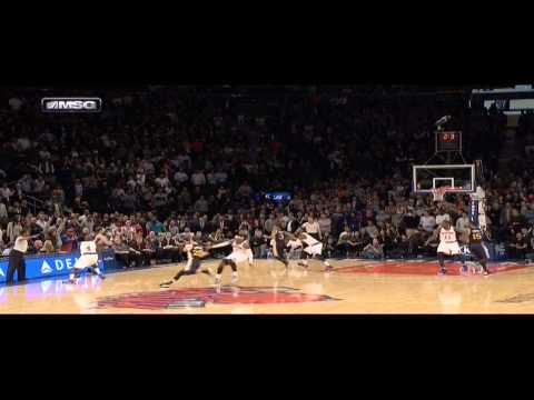 Trey Burke game-winner buzzer-beater (Utah Jazz at New York Knicks)