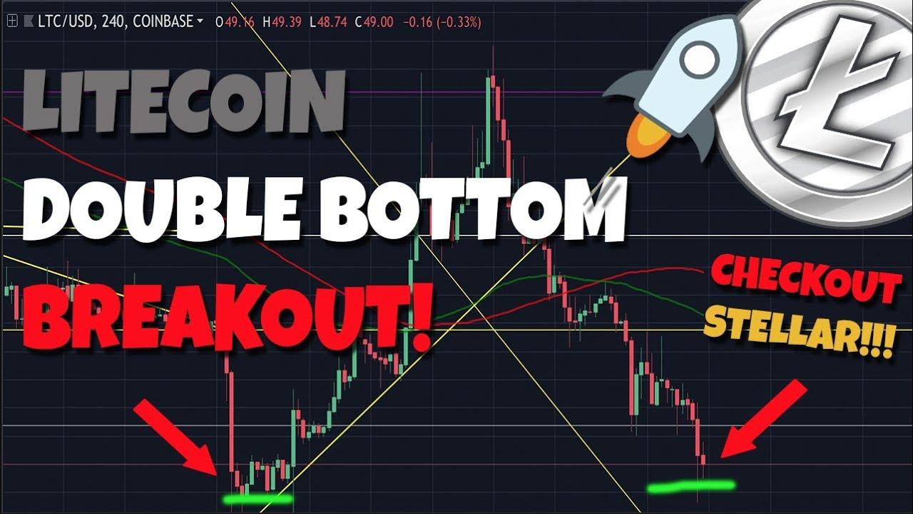 IMPORTANT: Litecoin Double Bottom Breakout! - GREAT INVESTMENT Stellar Lumens!!!!!