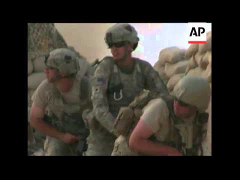 US soldiers fighting Taliban in Kandahar province