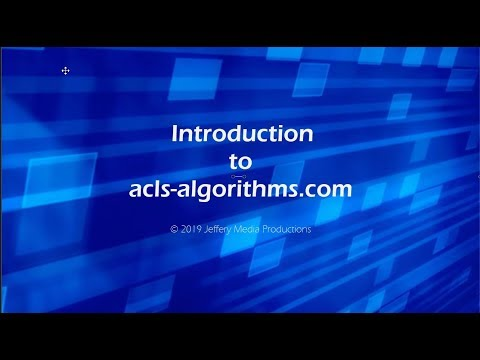 ACLS Algorithms Made Simple ACLS