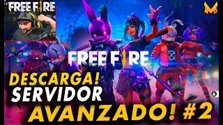 COMO DESCARGAR SERVIDOR AVANZADO OFICIAL DE FREE FIRE #2