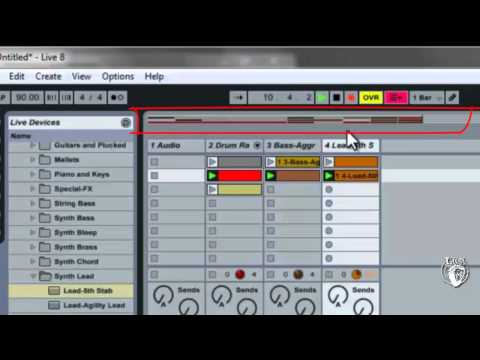 Ableton Live Tutorial #9 - Arrangement and Building Songs