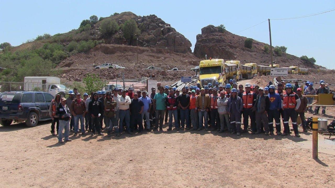 Declaran huelga en mina de Durango; exigen bono anual