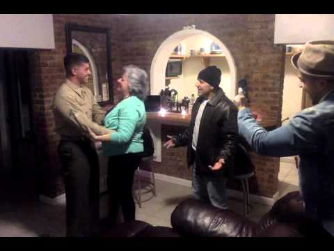 SURPRISE Mom & Dad!!! Our Marine is home for Thanksgiving!!!