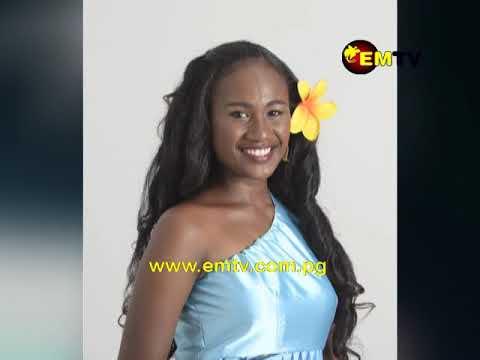 Miss Pacific Islands PNG Leashina Kariha in Tonga for Miss Pacific Islands Pageant