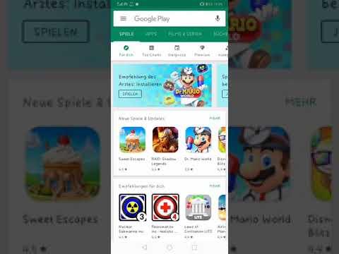Viren im Google Play Store. Einfach Schrott!