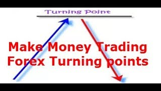 Profitable, easy, Forex technique on how to manually or automatically trade Forex turning points.