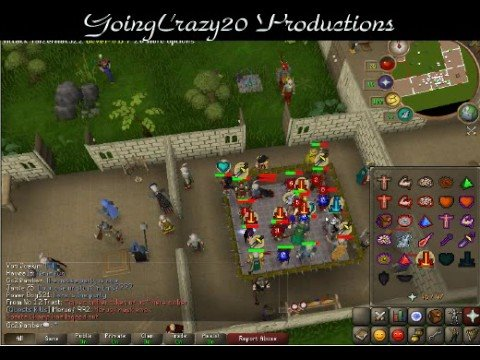 RuneScape – My 99 WC & Dark Lumino0′s 99 Atk Party