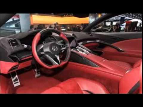 Acura Nsx Interior 2015