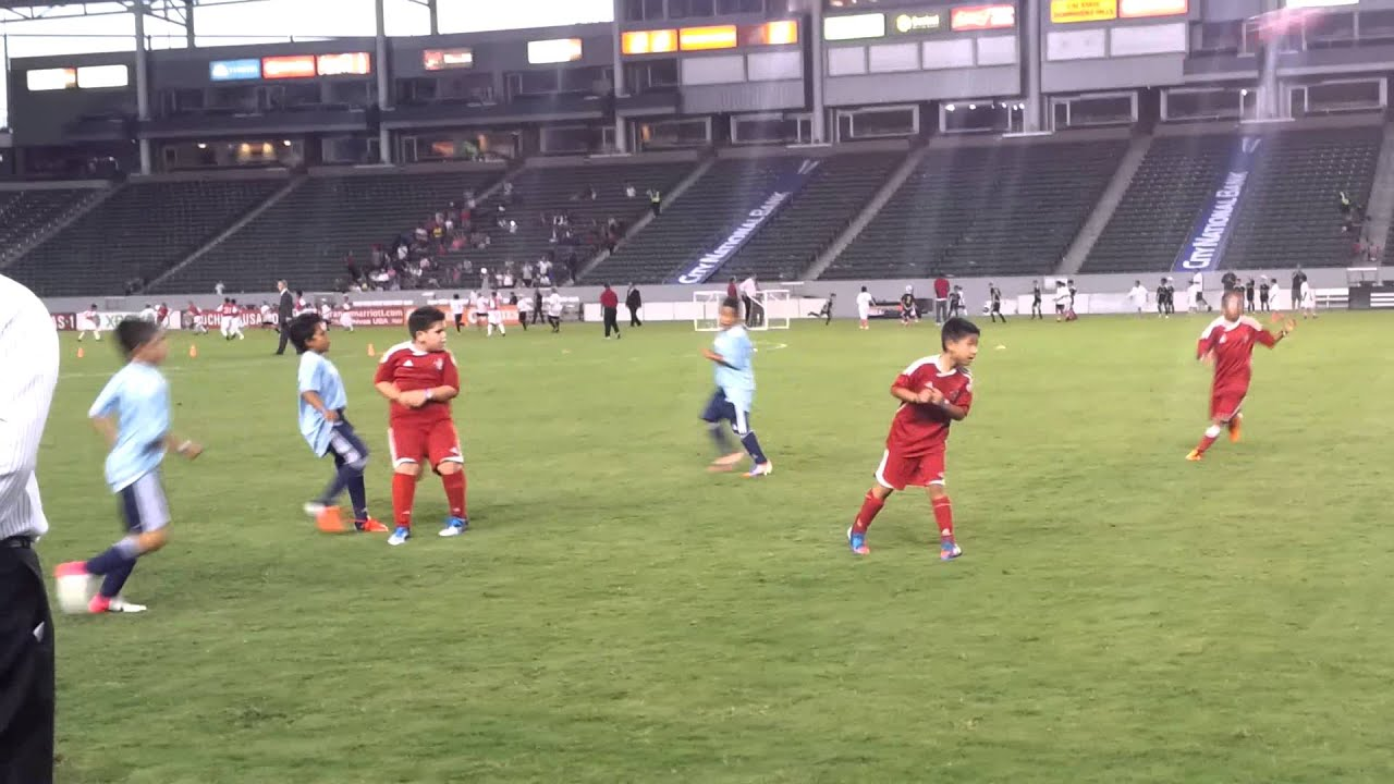 West Covina Shfc At Home Depot Center Youtube