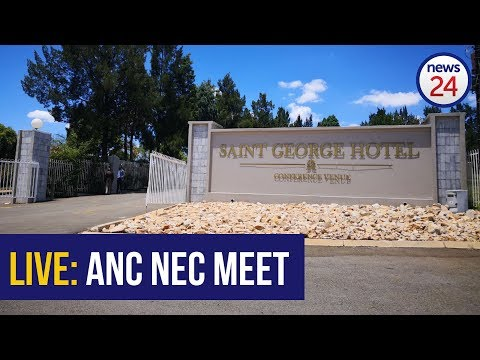WATCH LIVE: Outside the ANC NEC meeting