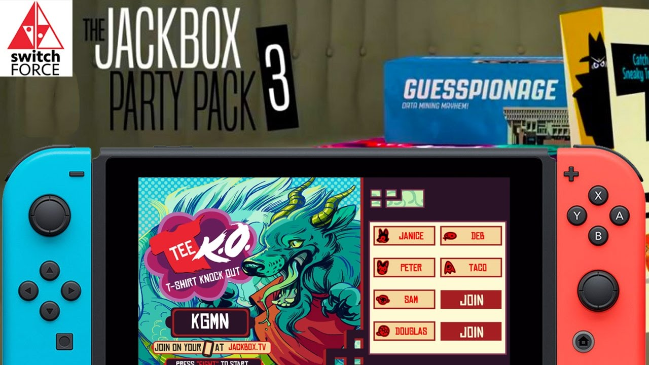 Jackbox Party Pack 3 Nintendo Switch Gameplay - Let's Play ...