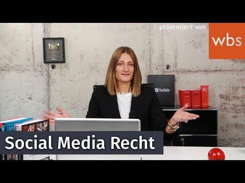 Das musst du auf Instagram, Facebook und Co. beachten! Social Media & Recht   WBS-Die Experten