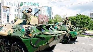 Парад Победы 9 мая 2015 в Новороссийске